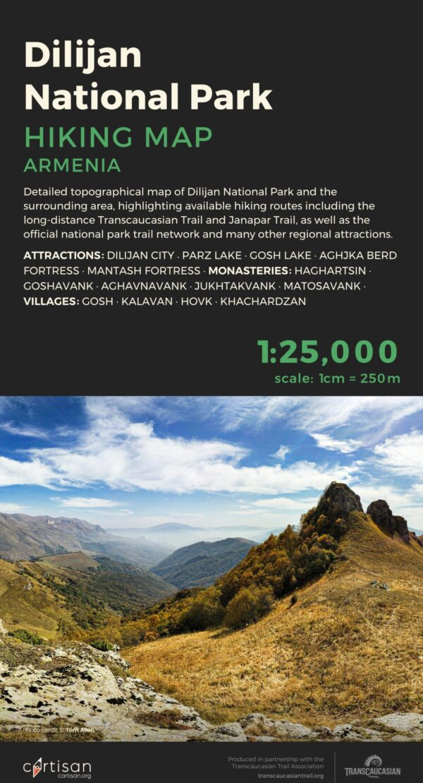 Dilijan-National-Park-Topo-Map-Front-Cover