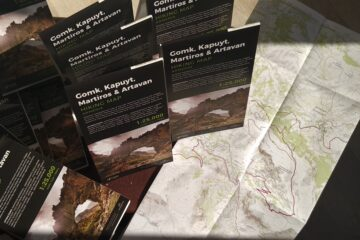 Vayots Dzor Gomk topo hiking map - Central Armenia - Launch
