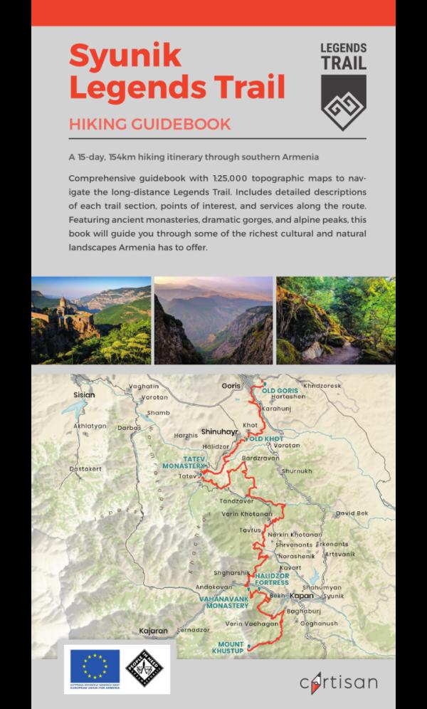 Syunik Legends Trail Hiking Guidebook cover thumbnail